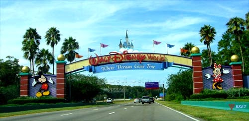 Entrada a Disneyworld