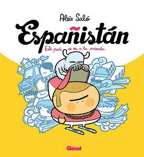 Portada de Españistán por Aléix Saló