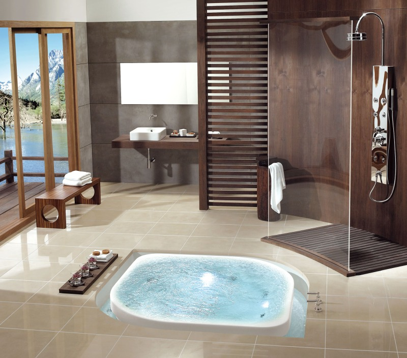 Splash of jen november 2012 - Extraordinary and relaxing contemporary bathroom designs ...