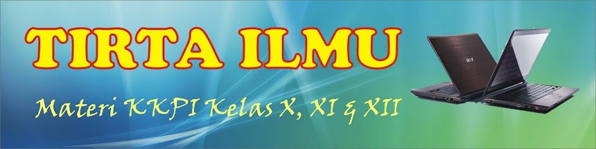 TIRTA ILMU
