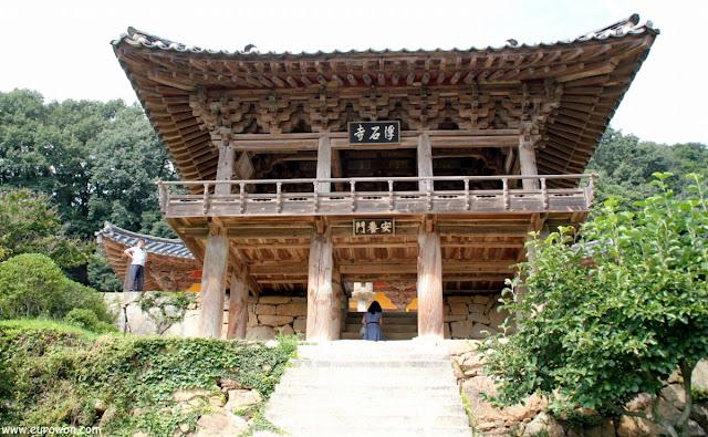 Pabellón del templo budista Buseoksa