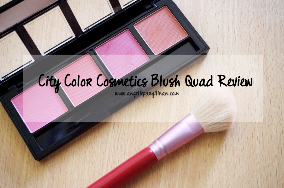 city color cosmetics blush quad review