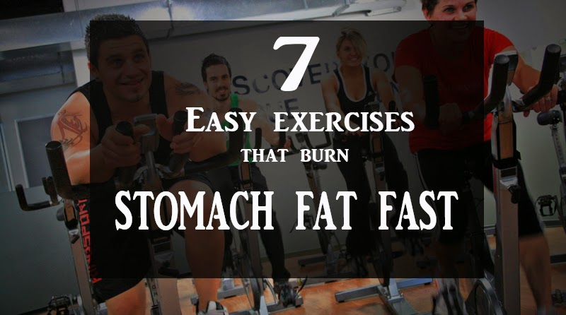 how to lose stomach fat quick and easy
