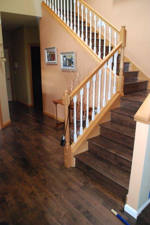 Staining Maple Floors Ptl Hardwood Floors Llc