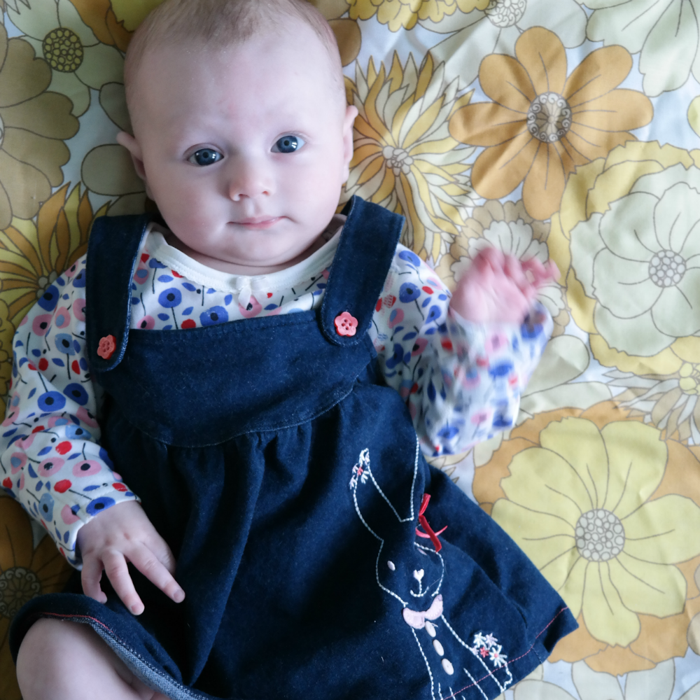 Matilda Rooftops: Style Icon (3-6 month edition) - Pinafore