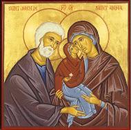 Sfintii si dreptii Parinti Ioachim si Ana, ocrotitorii familiei si ai familiei noastre