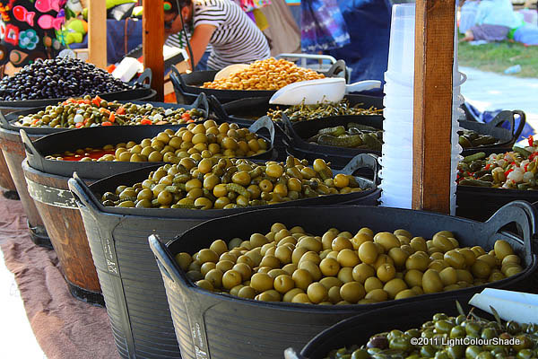 Pickles stall