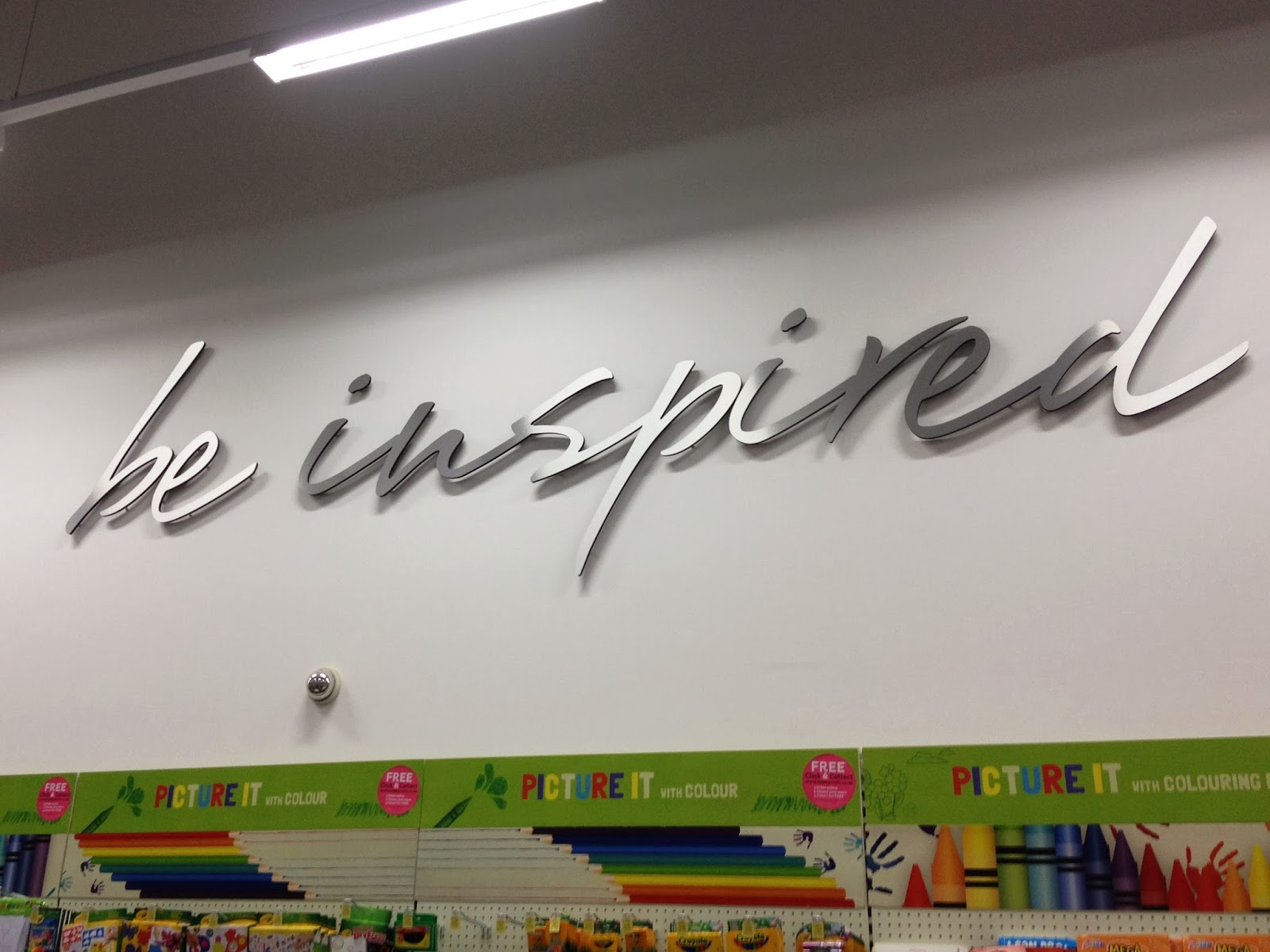 Being Inspired at Hobbycraft