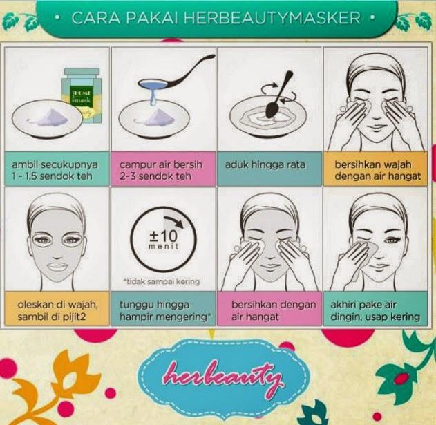 Cara Memakai Masker Wajah Herbeauty Masker Pekanbaru