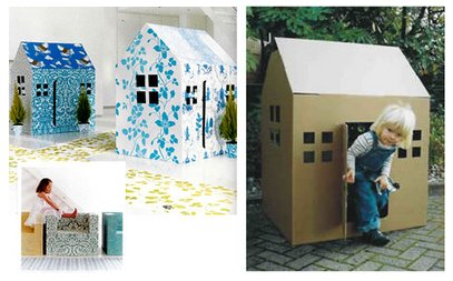 Laif vidanaif diy casa de cart n - Casas para ninos de carton ...
