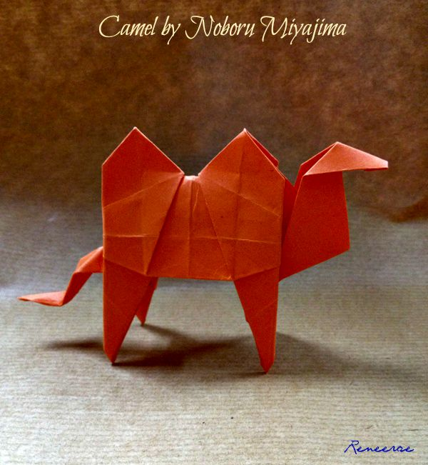 Lifes Simple Pleasure Origami Creations My First Cool Camel Fold