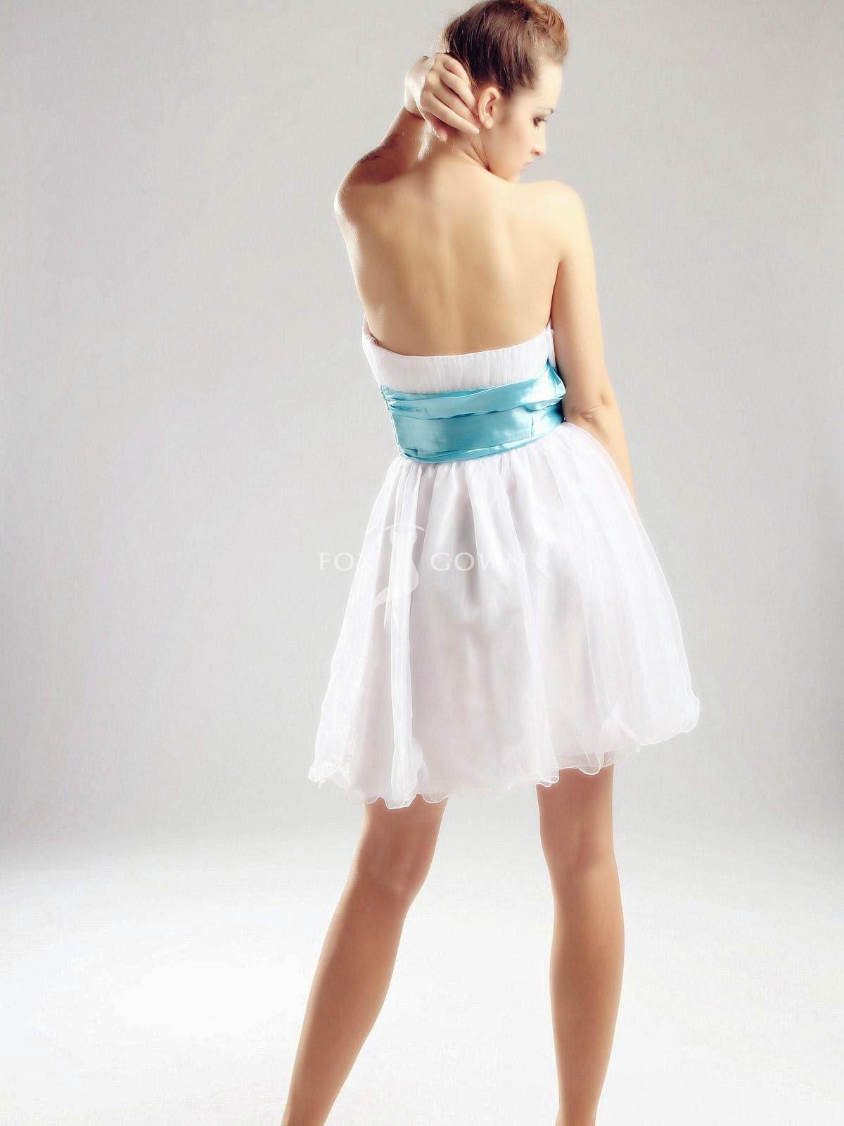 Vestidos de Fiesta con Escote en la Espalda