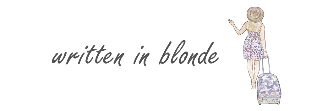 Written in blonde