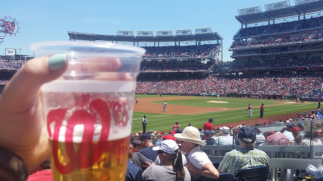 Beer at the Washington Nationals Game