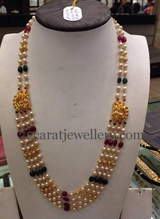 Simple Beads Chain 24 Grams Jewellery Designs