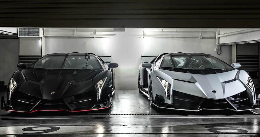 香港のランボルギーニディーラーに2台の「ヴェネーノ・ロードスター」