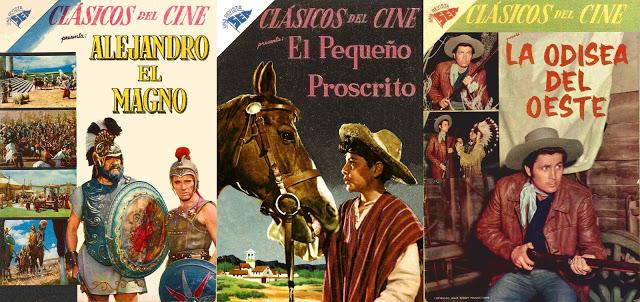 CLÁSICOS DEL CINE Novaro - Colección incompleta