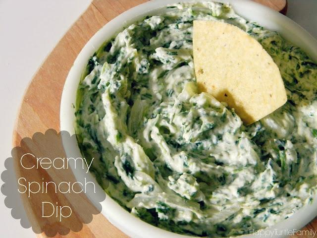 ~*Turtle Mama*~: Recipe : : Creamy Spinach Dip