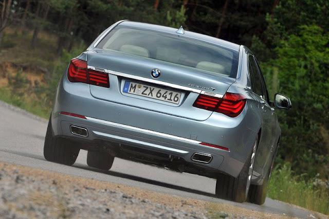 2013 BMW ActiveHybrid 7 Back Exterior