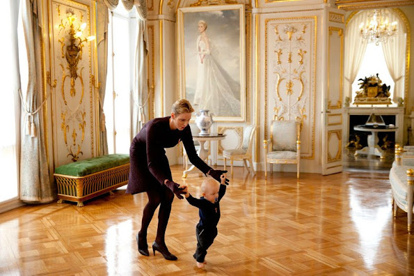 Jacques, Hereditary Prince of Monaco, Princess Charlene