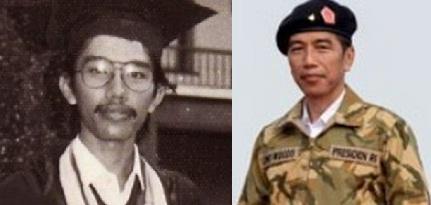 Kumpulan Foto Jadul (Jaman Dulu) Presiden Jokowi Waktu Muda | Liputan6.info