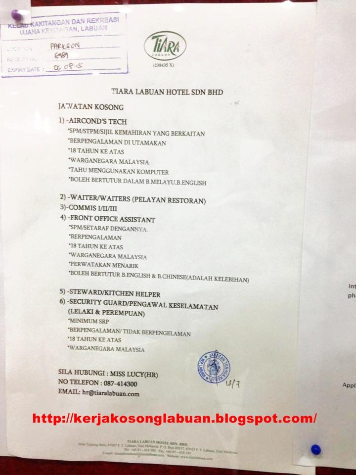 Kerja Kosong Di Kedah October 2015 | Jawatan KosongJawatan Kosong