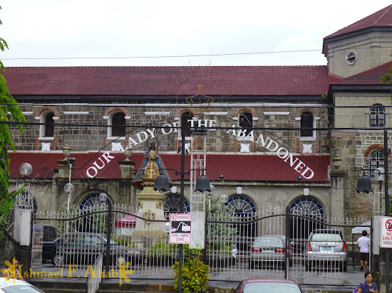 Entrance to Santa Ana Church, Manila