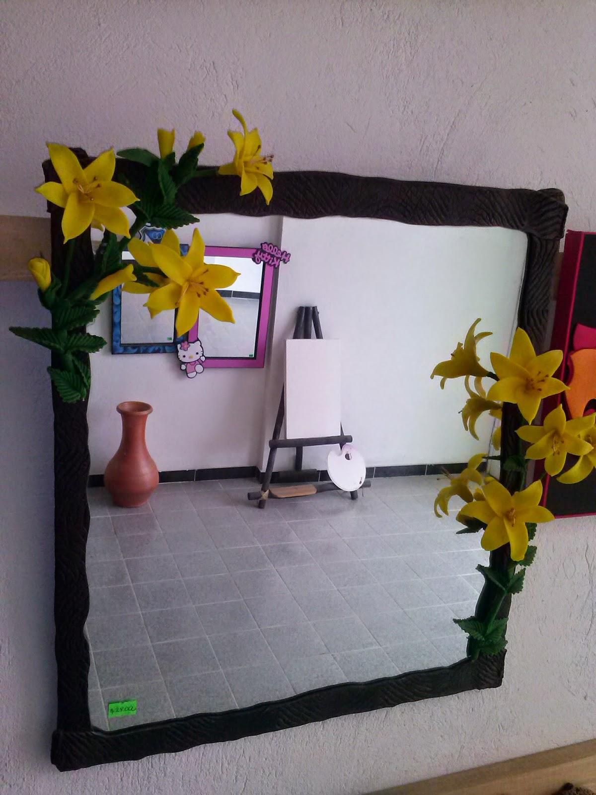 Galeria arte y dise o madekids marcos y espejos for Marcos decorados para espejos