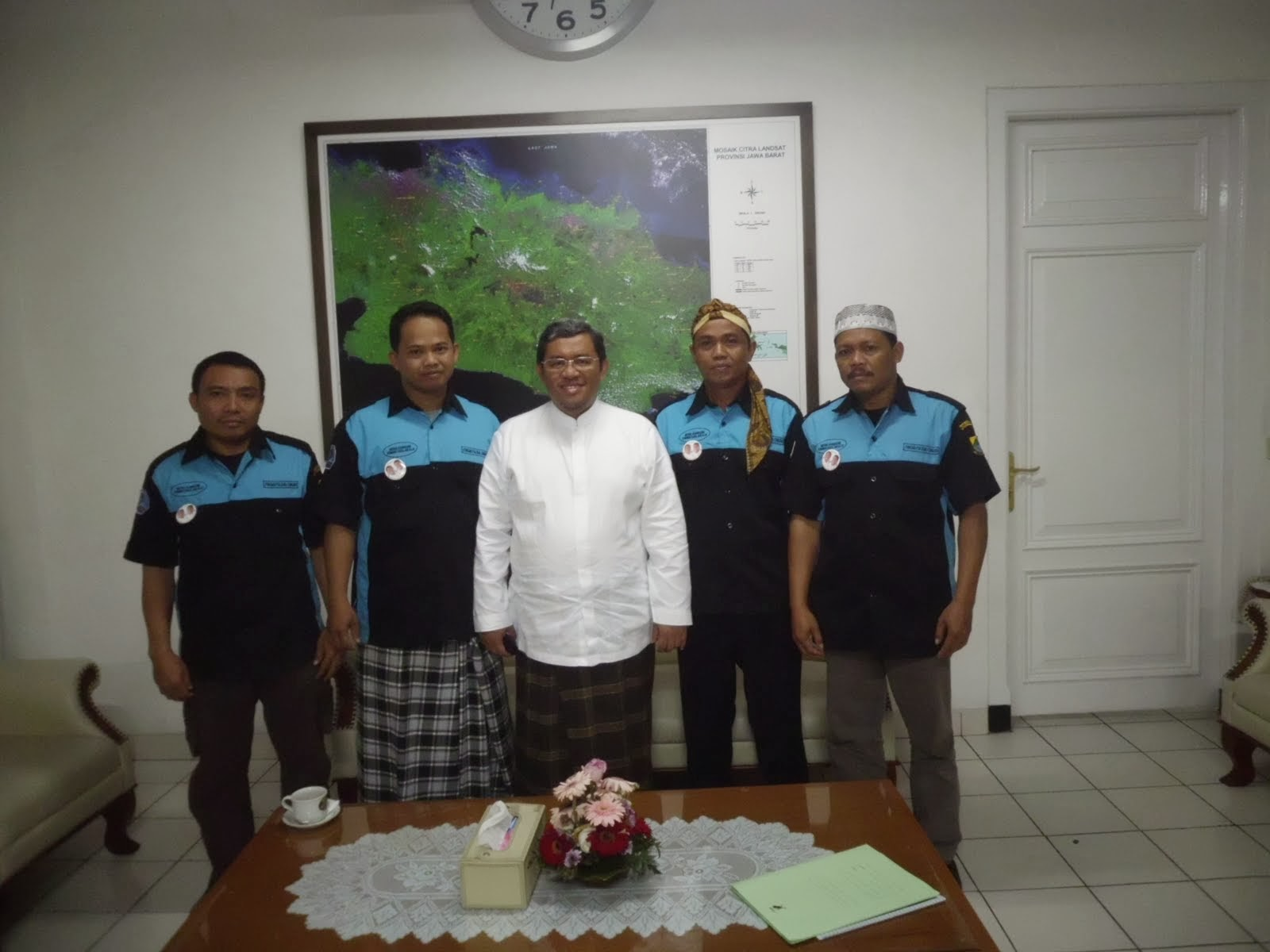 Silaturahmi dengan Gubernur Jawa Barat