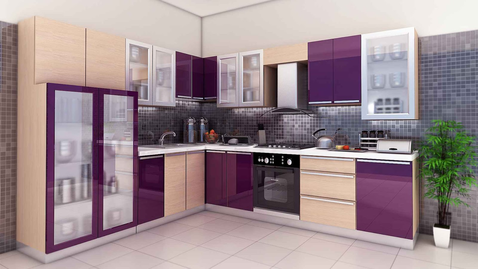 Pu Paint Modular Kitchen At Lowest Price Ever!