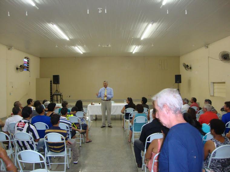 Palestra: Dr. Renato na Semana Nacional Contra o Alcoolismo