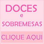 DOCES ESPECIAIS, SOBREMESAS