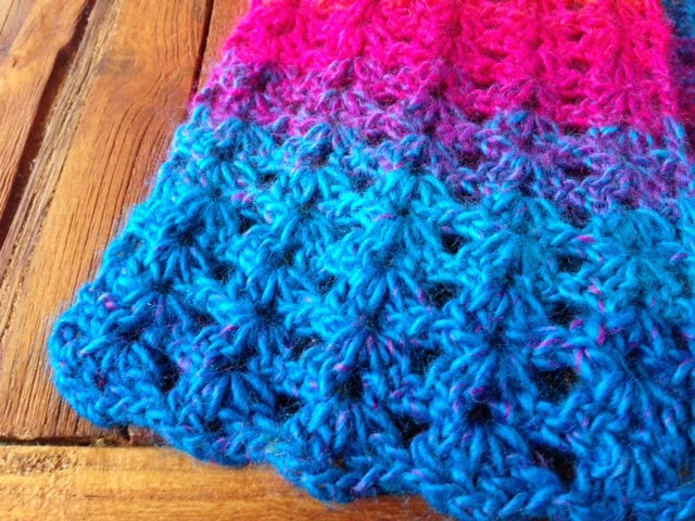 Crochet V Stitch : searching the Internet for a stitch I wanted I settled on the V-Stitch ...