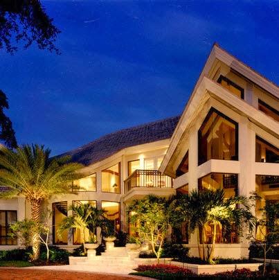 casa de lujo moderna de dos pisos