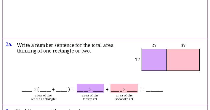 Homeschool Math Blog: Worksheets for area u0026 perimeter