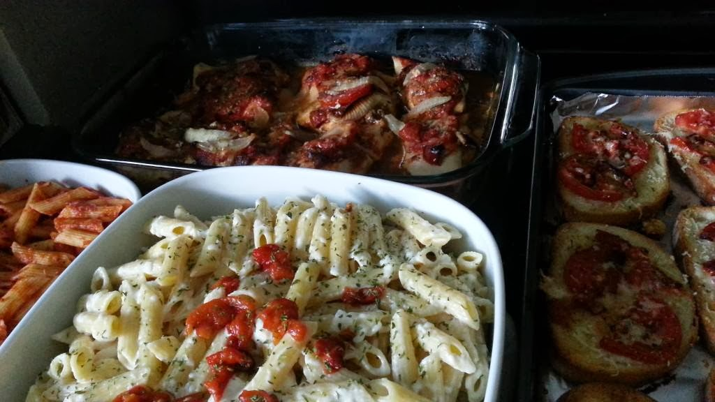 italian sunday dinner essay It's a ritual that started as italian immigrants blended their various  there,  sunday dinner means hand-made fusilli, tomato sauce or meat ragù,.