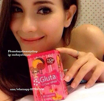 GLUTA OVER WHITE BY OP SODA