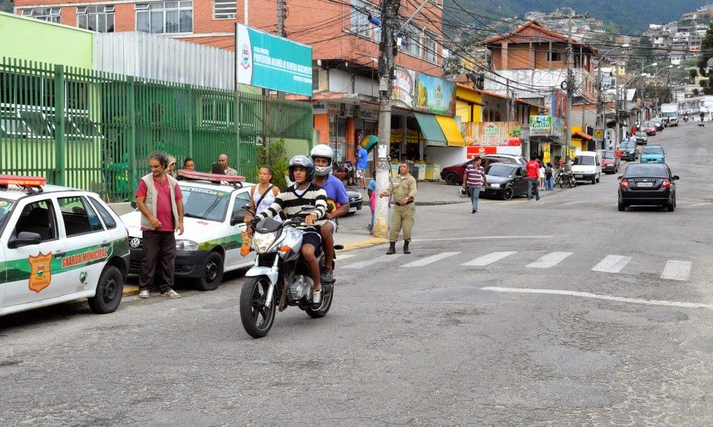 Ronda Escolar garante mais segurança aos alunos da rede pública de Teresópolis RJ