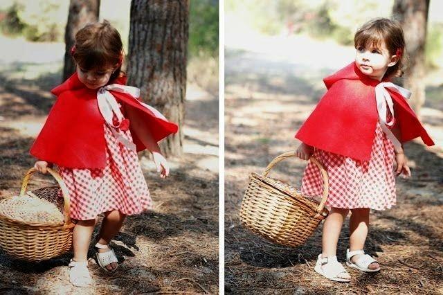 Disfraz Caperucita niña