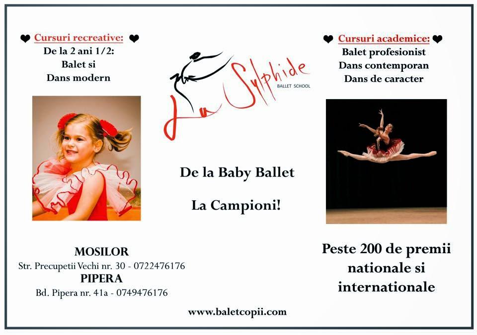 Balet Copii - La Sylphide Ballet School