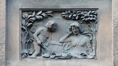 Boškovićeva 15 - motiv na fasadi