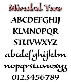 Graffiti Alphabet letter A-Z Mirabel Two