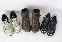 Footwear required to run walk ride for Rwanda