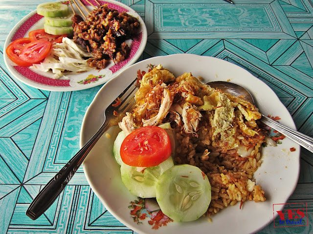 Indonesian food Nasi Ayam