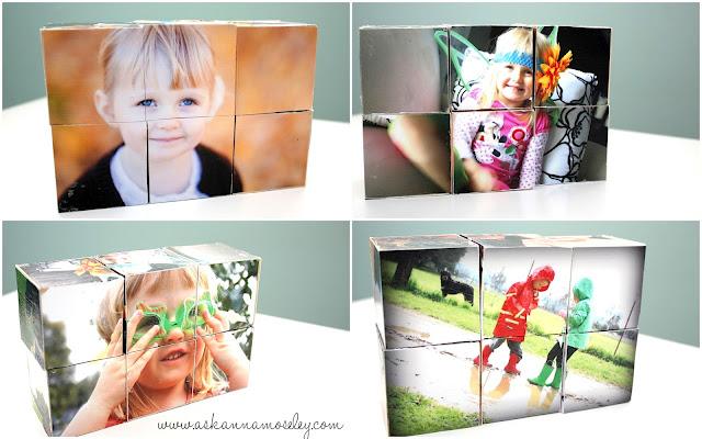 Кубики из фотографий своими руками