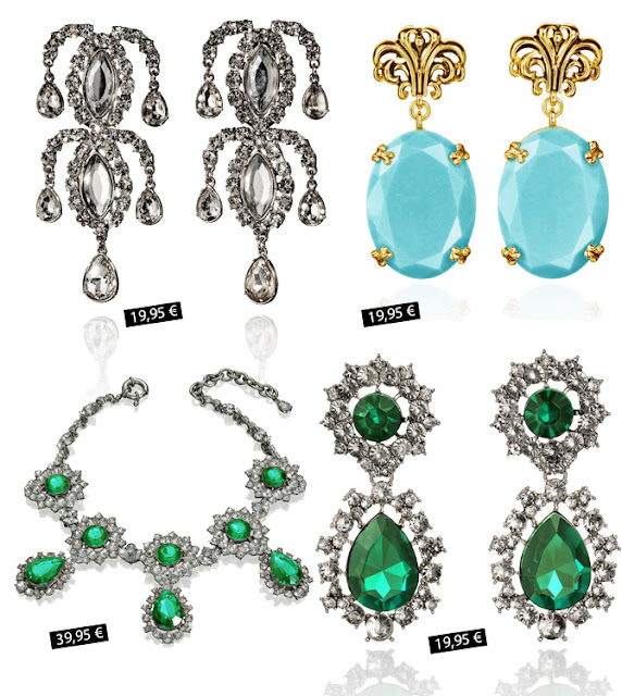 Anna dello Russo jewelry for H&M with prices