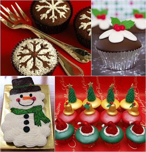 Candela smith cupcakes para navidad - Ideas decorar navidad ...