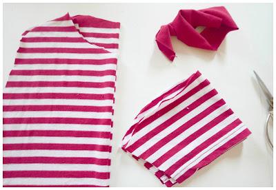 Cómo coser una camiseta para niños