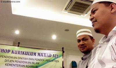 Wakil Direktur Ma'had Ali dan Kepala Muadalah Dayah MUDI.
