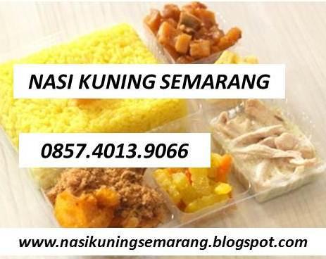 Nasi Kuning Semarang 0857-4013-9066